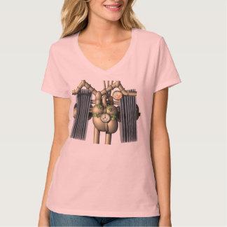 Steam Punk heart and lungs T shirt