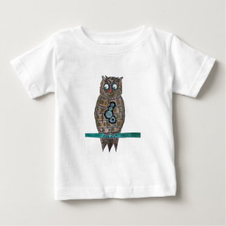 Steam Punk Owl Baby T-Shirt