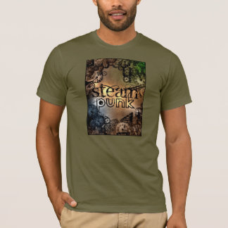Steam punk / stampunk clocks gears and cogs T-Shirt