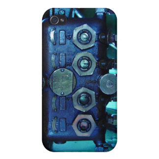 Steam regulator in locomotive cover for iPhone 4