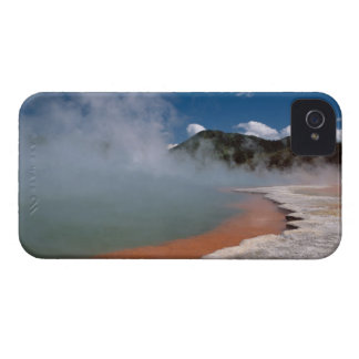 Steam rising from Champagne Pool at WAI-O-TAPU Case-Mate iPhone 4 Cases