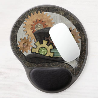 Steam Sass Steampunk Mixed Media Gel Mouse Pad
