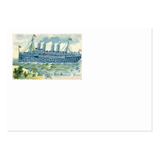 Steam Ship Forget Me Not Clover Pack Of Chubby Business Cards