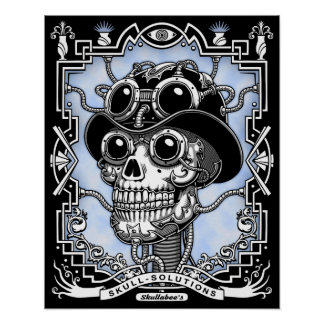 Steam Skullabee Poster