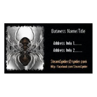 Steam Spider Costume Accessories Designer Artist Pack Of Standard Business Cards