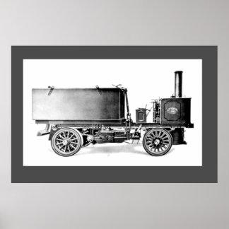 Steam 'Tank' Wagon Poster