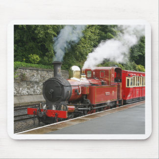 Steam train at Douglas Isle of Man Mouse Mat