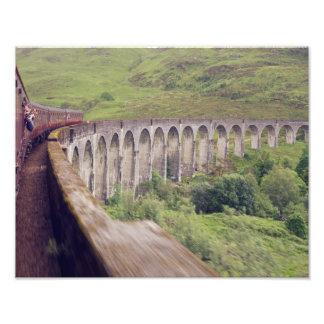 Steam Train at Glenfinnan Photo Print
