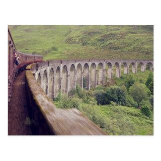 Steam Train at Glenfinnan Postcard