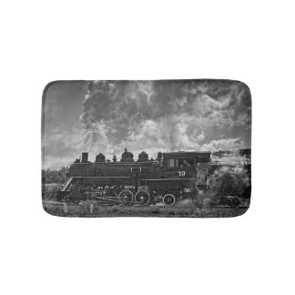 STEAM TRAIN BATH MAT