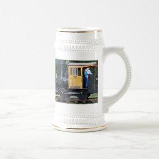 Steam Train Beer Stein