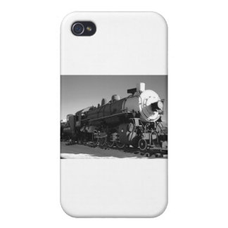 Steam Train Black and White Cases For iPhone 4