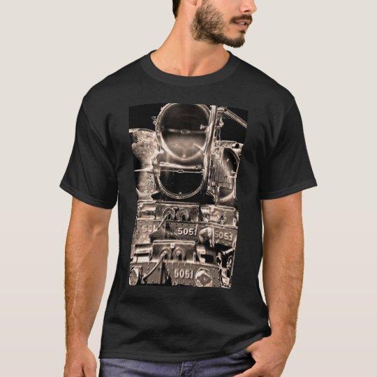 Steam Train Boiler and Buffer (3) T-Shirt
