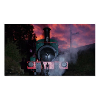 Steam Train Business Cards/Bookmark Pack Of Standard Business Cards