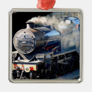 Steam Train Christmas Ornament