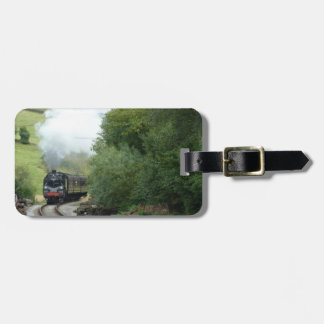 Steam Train Customizable Luggage Tag