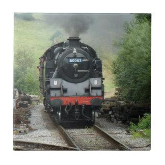 Steam Train Decorative Tile