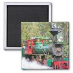 Steam train engine magnet