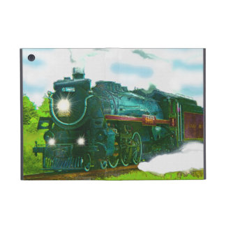Steam Train Engine Railway Train-lover iPad Case