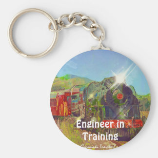 Steam Train Enthusiasts Key-Chains Key Chain
