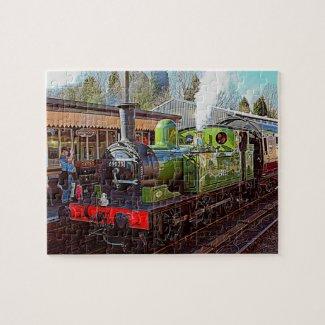 Steam Train Jigsaw Jigsaw Puzzle