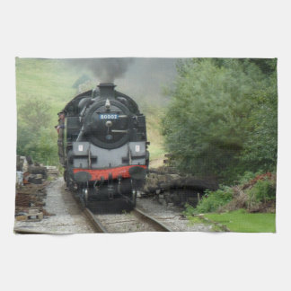 Steam Train Kitchen Towel