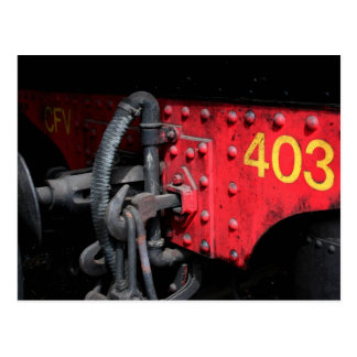 Steam Train Le Mastrou 403 Steam Engine Postcard