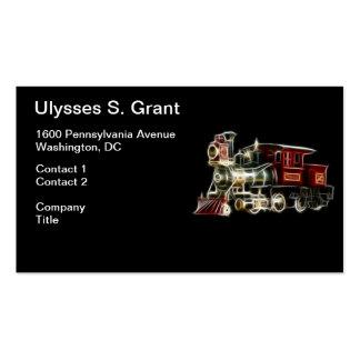 Steam Train Locomotive Engine Pack Of Standard Business Cards