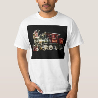Steam Train Locomotive Engine T-Shirt