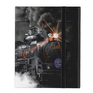 Steam Train Locomotive iPad Folio Cover