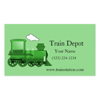 Steam Train Locomotive Pack Of Standard Business Cards