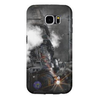 Steam Train Locomotive Samsung Galaxy S6 Cases