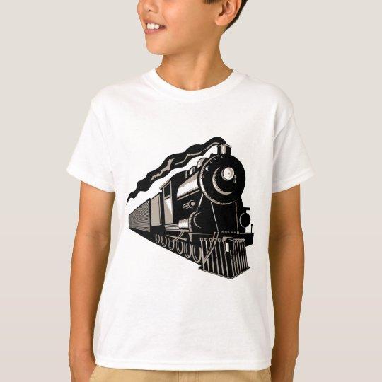 steam train locomotive vintage T-Shirt