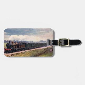 Steam Train Luggage Tag. Luggage Tag