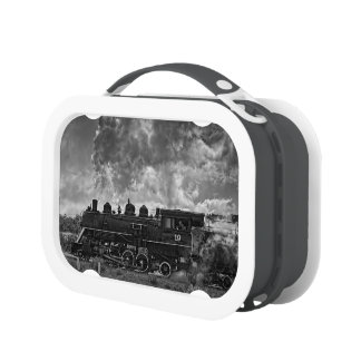 STEAM TRAIN LUNCHBOXES