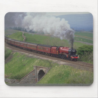 Steam train mouse mat