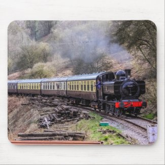Steam Train Mouse Pad