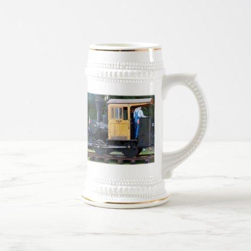 Steam Train Coffee Mugs