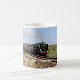 "Steam Train ""Oliver Cromwell"" Mug"