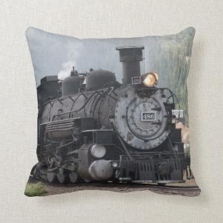 Steam Train Pillow