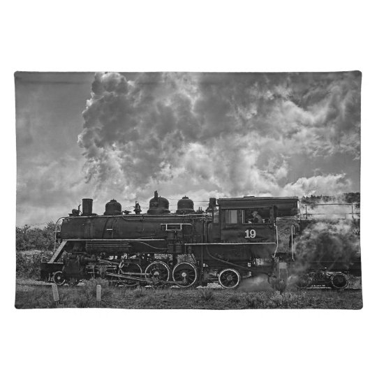 STEAM TRAIN PLACEMATS