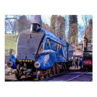 Steam Train Postcard