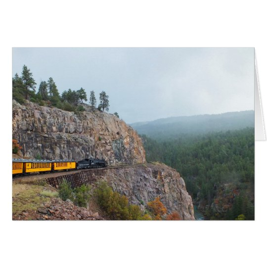 Steam train to Silverton Card