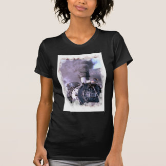 Steam train USA T-Shirt