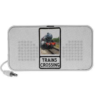 Steam train, vintage railway engine mp3 speaker
