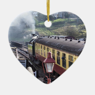 STEAM TRAINS CHRISTMAS ORNAMENT