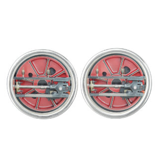 STEAM TRAINS CUFFLINKS