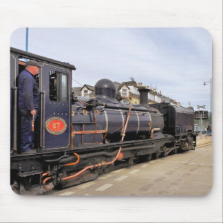 STEAM TRAINS MOUSE MAT