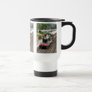 STEAM TRAINS STAINLESS STEEL TRAVEL MUG