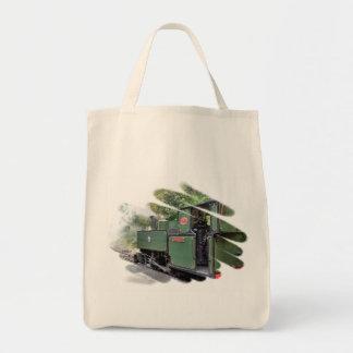 STEAM TRAINS TOTE BAG